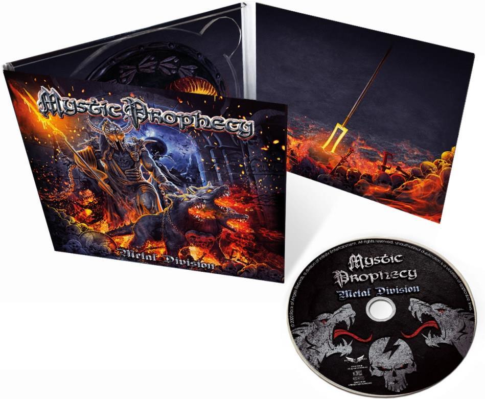 Mystic Prophecy - Metal Division (Digipack)