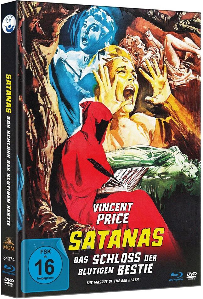Satanas - Das Schloss der blutigen Bestie (1964) (Limited Edition, Mediabook, Uncut, Blu-ray + DVD)