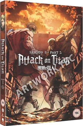 Attack On Titan - Season 3 Part 2 (2 DVDs)