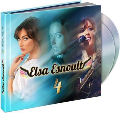 Elsa Esnoult - 4 (Deluxe Edition, CD + DVD)