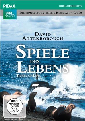 Spiele des Lebens - Die komplette 12-teilige Reihe (1990) (Pidax Doku-Highlights, 4 DVDs)