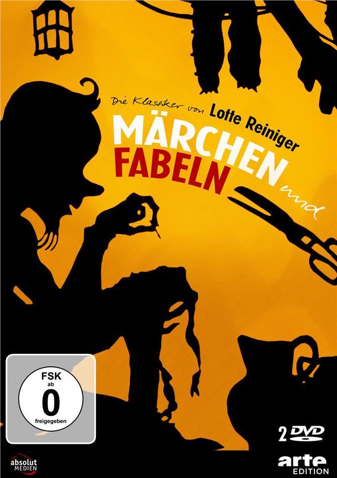Die Klassiker von Lotte Reiniger - Märchen & Fabeln (2 DVDs)