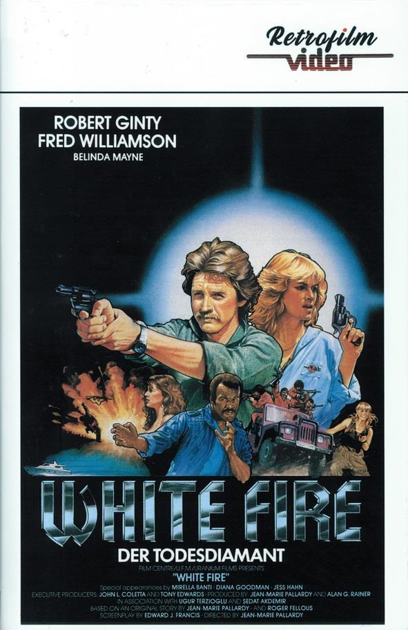 White Fire - Der Todesdiamant (1985) (Grosse Hartbox, Cover A, Limited Edition)