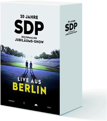 SDP - 20 Jahre - Die einmalige Jubiläums-Show (Live aus Berlin) (Limited Boxset, 3 CDs + Blu-ray)