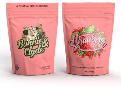 Bonnie & Clyde Strawberry (2g) - (22% CBD 0.8% THC)