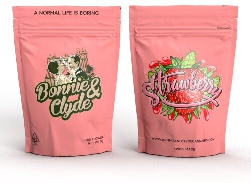 Bonnie & Clyde Strawberry Kush (4g) - (22% CBD 0.8% THC)