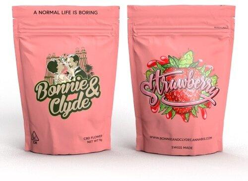 Bonnie & Clyde Strawberry (5g) - (22% CBD 0.8% THC)