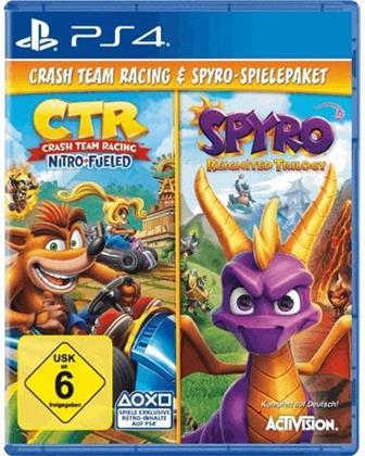 CTR: Crash Team Racing Nitro Fueled / Spyro Reignited Trilogy - Bundle