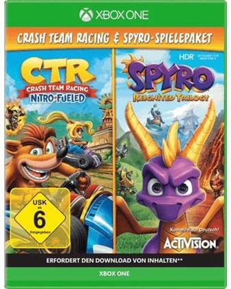 CTR: Crash Team Racing Nitro Fueled / Spyro Reignited Trilogy - Bundle