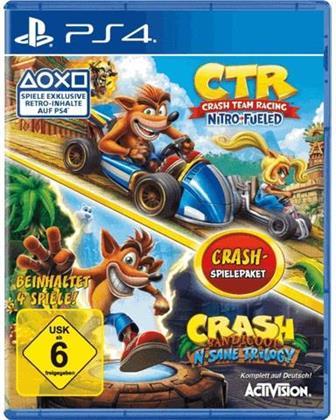 CTR: Crash Team Racing Nitro Fueled / Crash N. Sane Trilogy - Bundle