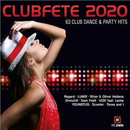 Clubfete 2020 Vol. 63 - Club Dance & Party Hits (3 CDs)