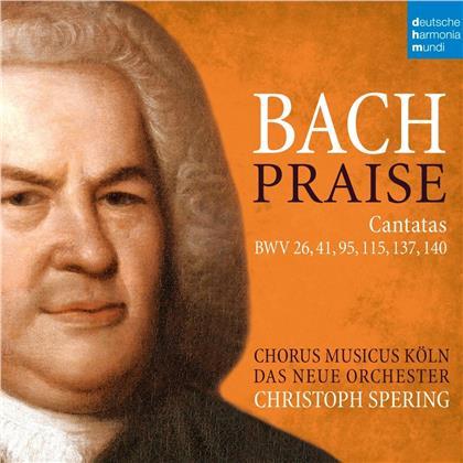 Christoph Spering & Johann Sebastian Bach (1685-1750) - Praise (2 CDs)