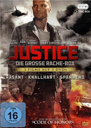 Justice - Die grosse Rache-Box (3 DVDs)