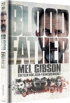 Blood Father (2016) (Cover B, Limited Edition, Mediabook, Blu-ray + DVD)