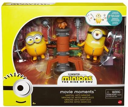 Minions Movie Moments: Martial Arts Minions - Figuren-Set