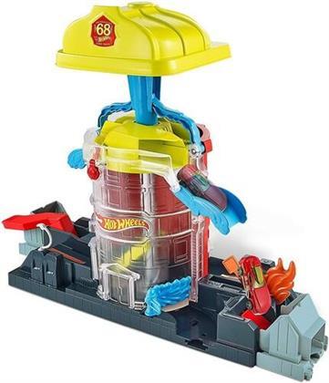 Hot Wheels - City: Feuerwehr Einsatzzentrale Spielset