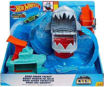 Hot Wheels - City: Robo Shark Loop Set