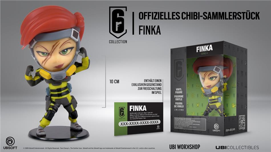 MERC Six Collection Figur Finka<br>
