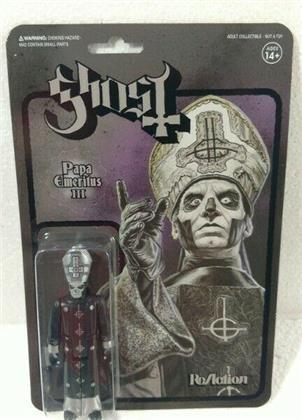 Ghost - Papa Emeritus Iii (Black Metal Reaction Figure)