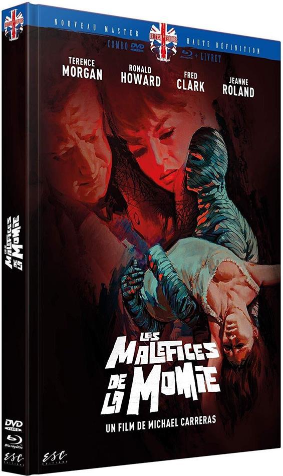 Les maléfices de la momie (1964) (Limited Edition, Mediabook, Blu-ray + DVD)