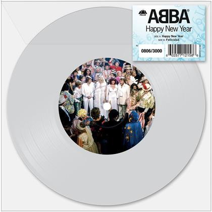 "ABBA - Happy New Year (Transparent Vinyl, 7"" Single)"