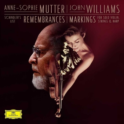 "John Williams (*1932) (Komponist/Dirigent) & Anne-Sophie Mutter - Remembrances (From Schindler's List) (10"" Maxi)"
