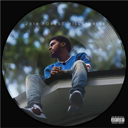 """J. Cole - 2014 Forest Hills Drive (Black Friday 2019, Picture Disc, 12"""" Maxi)"""