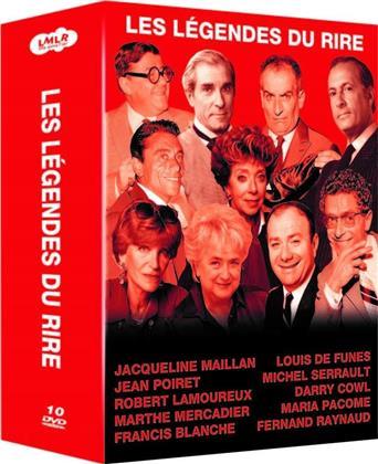 Les légendes du rire (10 DVDs)