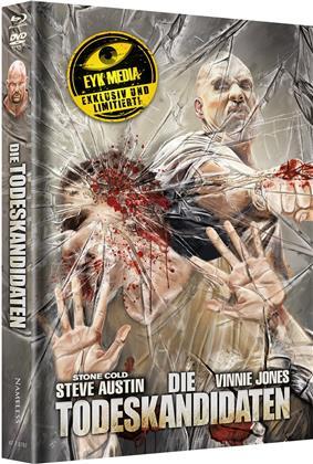 Die Todeskandidaten (2007) (Cover E, Limited Edition, Mediabook, Uncut, Blu-ray + DVD)