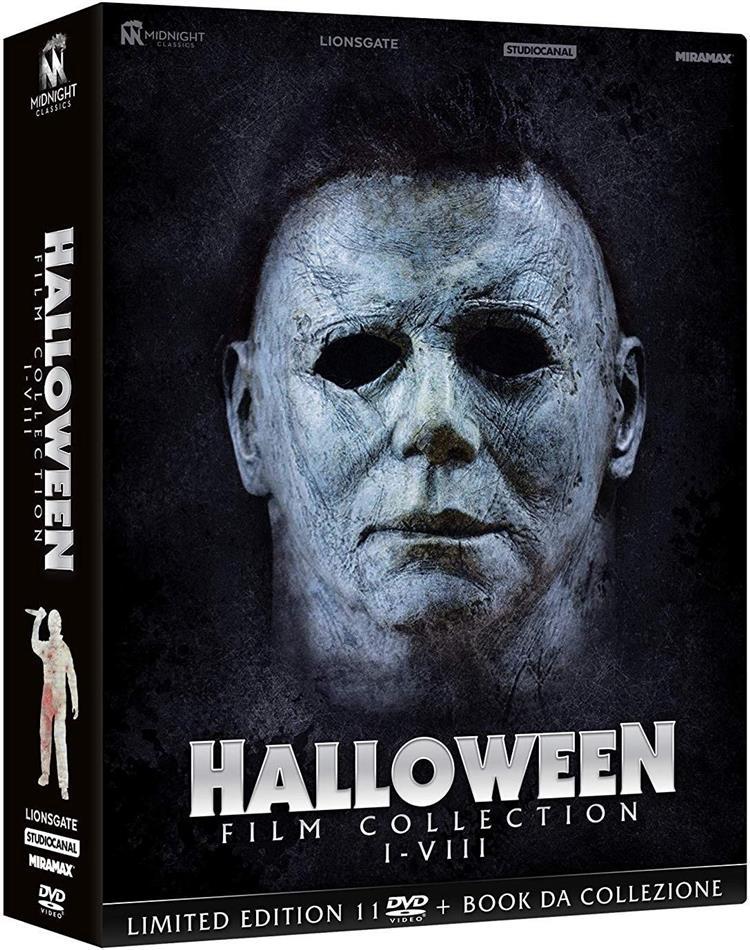 Halloween I-VIII - Film Collection (Cofanetto, Edizione Limitata, 11 DVD)