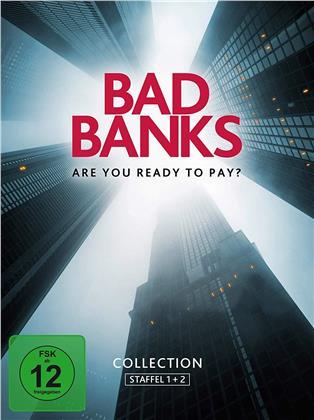 Bad Banks - Staffel 1 & 2 (4 DVDs)