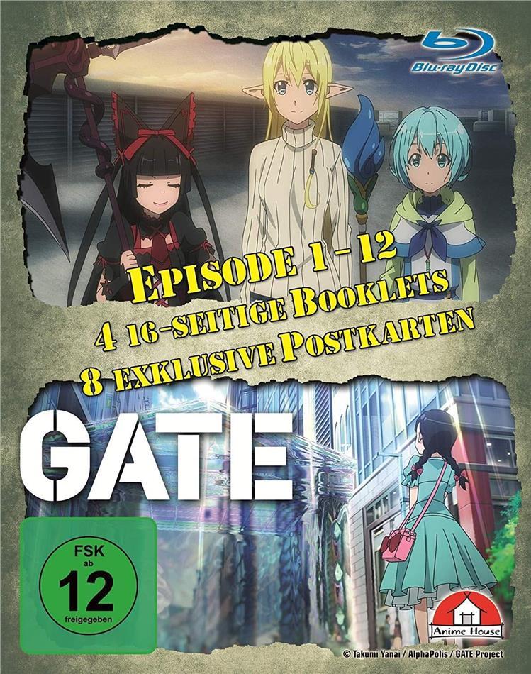 Gate - Staffel 1 (Gesamtausgabe, 4 Blu-rays)