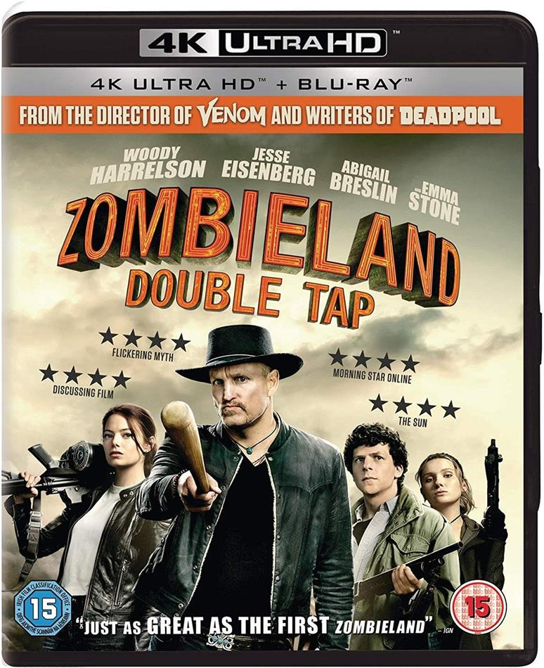 Zombieland 2 - Double Tap (2019) (4K Ultra HD + Blu-ray)