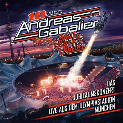 Andreas Gabalier - Best Of Volks-Rock'n'roller - Das Jubiläumskonzert (2 CDs)