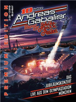 Andreas Gabalier - Best Of Volks-Rock'n'roller - Das Jubiläumskonzert (Premium Edition, 2 CDs + 2 DVDs + Blu-ray)