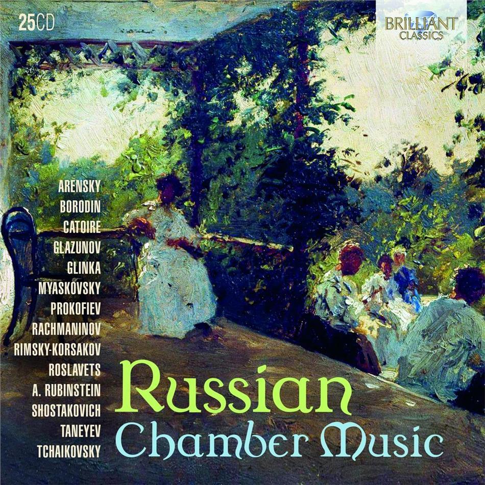 Russian Chamber Music (Brilliant Classics, 25 CDs)