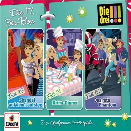 Die Drei !!! - Die 17. 3er Box (Folgen 49,51,52) (3 CDs)