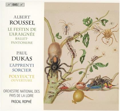 Albert Roussel (1869-1937), Paul Dukas (1865-1935), Pascal Rophé & Orchestre National des Pays de la Liore - Le Festin De L'Araignée / L'Apprenti Sorcier (SACD)