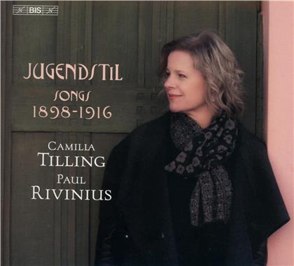 Erich Wolfgang Korngold (1897-1957), Camilla Tilling & Paul Rivinius - Jugendstil - Songs 1898-1916 (SACD)