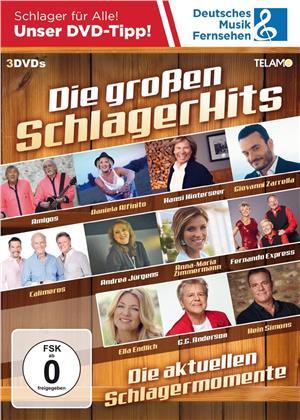 Various Artist - Die großen Schlager Hits (3 DVDs)