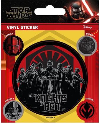 Star Wars: The Rise of Skywalker - The Knights of Ren - Vinyl Sticker Pack