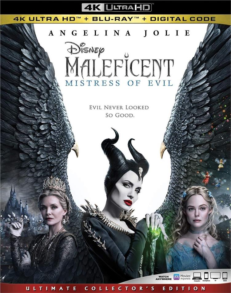 Maleficent 2 - Mistress Of Evil (2019) (Ultimate Collector's Edition, 4K Ultra HD + Blu-ray)