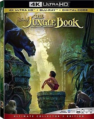 The Jungle Book (2016) (Ultimate Collector's Edition, 4K Ultra HD + Blu-ray)
