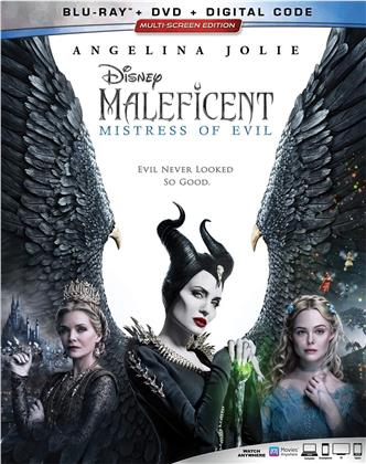 Maleficent 2 - Mistress Of Evil (2019) (Blu-ray + DVD)