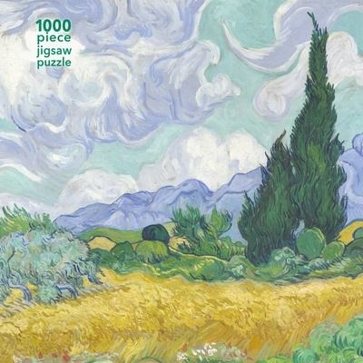 Vincent van Gogh: Wheatfield with Cypress - 1000 Pieces Adult Jigsaw