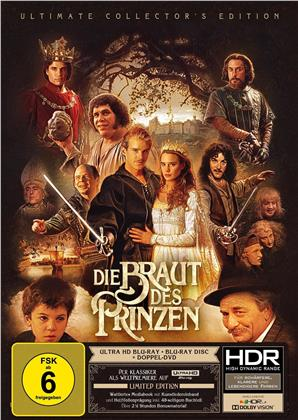 Die Braut des Prinzen (1987) (Ultimate Collector's Edition, Edizione Limitata, Mediabook, 4K Ultra HD + Blu-ray + 2 DVD)