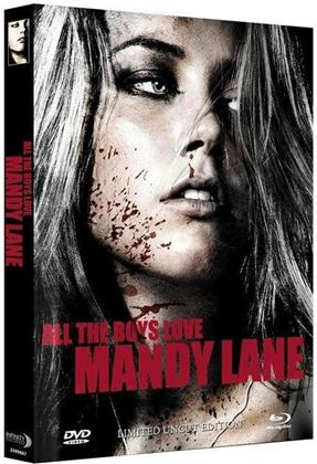 All the Boys Love Mandy Lane (2006) (Cover A, Edizione Limitata, Mediabook, Uncut, Blu-ray + DVD)
