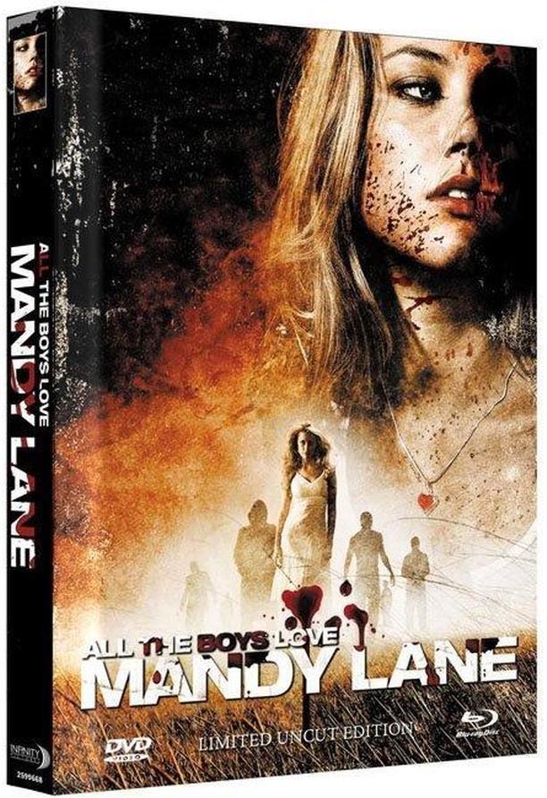 All the Boys Love Mandy Lane (2006) (Cover B, Edizione Limitata, Mediabook, Uncut, Blu-ray + DVD)