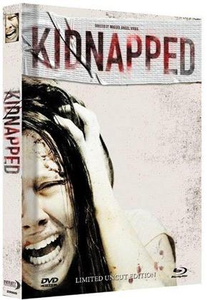 Kidnapped (2010) (Cover A, Limited Collector's Edition, Mediabook, Uncut, Blu-ray + DVD)