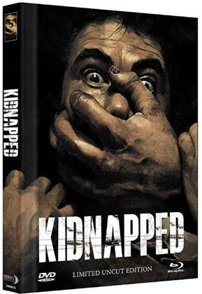 Kidnapped (2010) (Cover B, Collector's Edition Limitata, Mediabook, Uncut, Blu-ray + DVD)